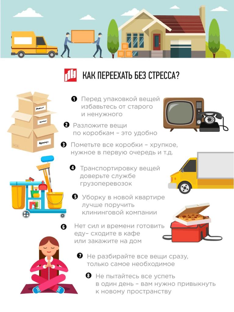 Как переехать без стресса