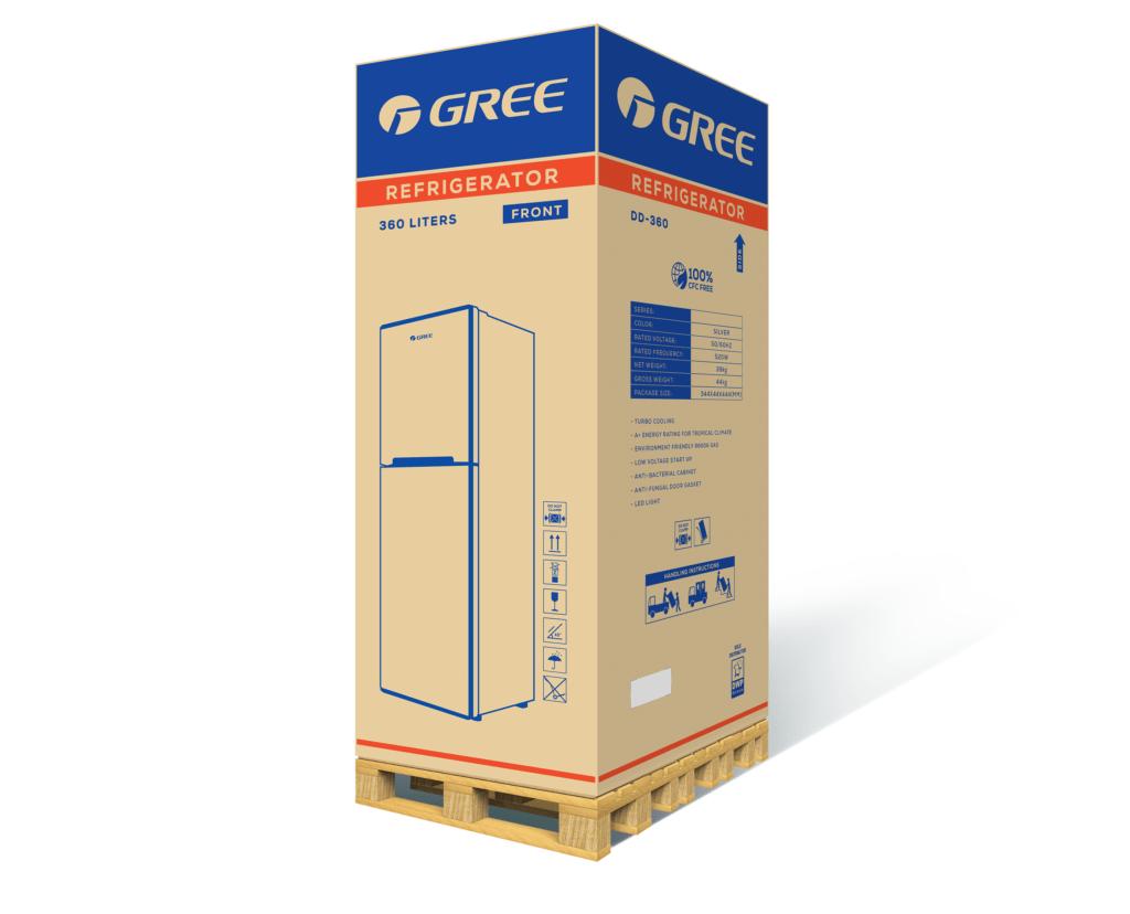 Вариант упаковки холодильника